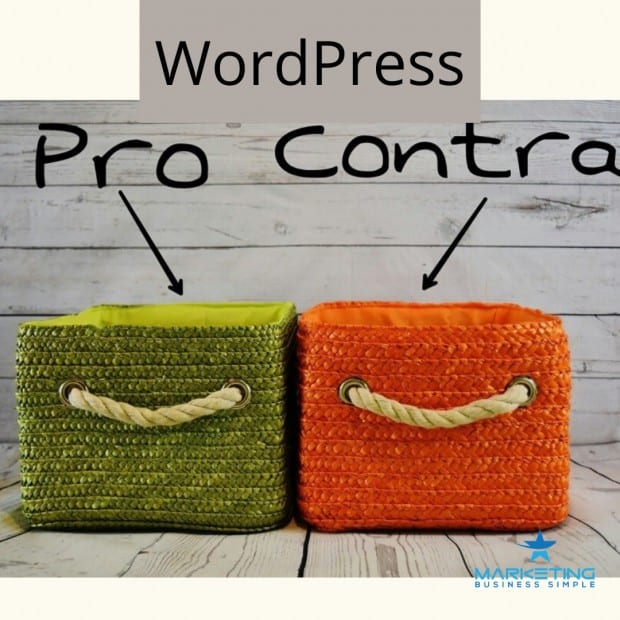 What are the pros and cons of WordPress