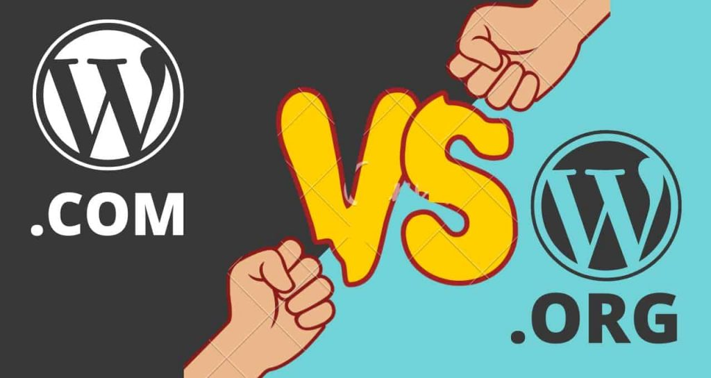 What is the difference between WordPress org and WordPress