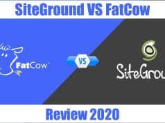 SiteGround VS Fatcow Review 2020