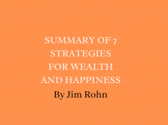 Summary of 7 Strategies for Wealth And Happiness