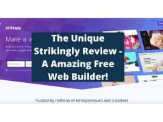 The Unique Strikingly Review - A Amazing Free Web Builder!