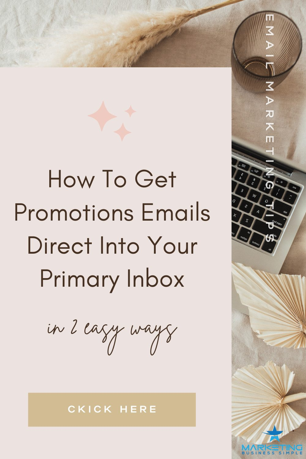 How To Get Promotions Emails Direct Into Your Primary Inbox Pin